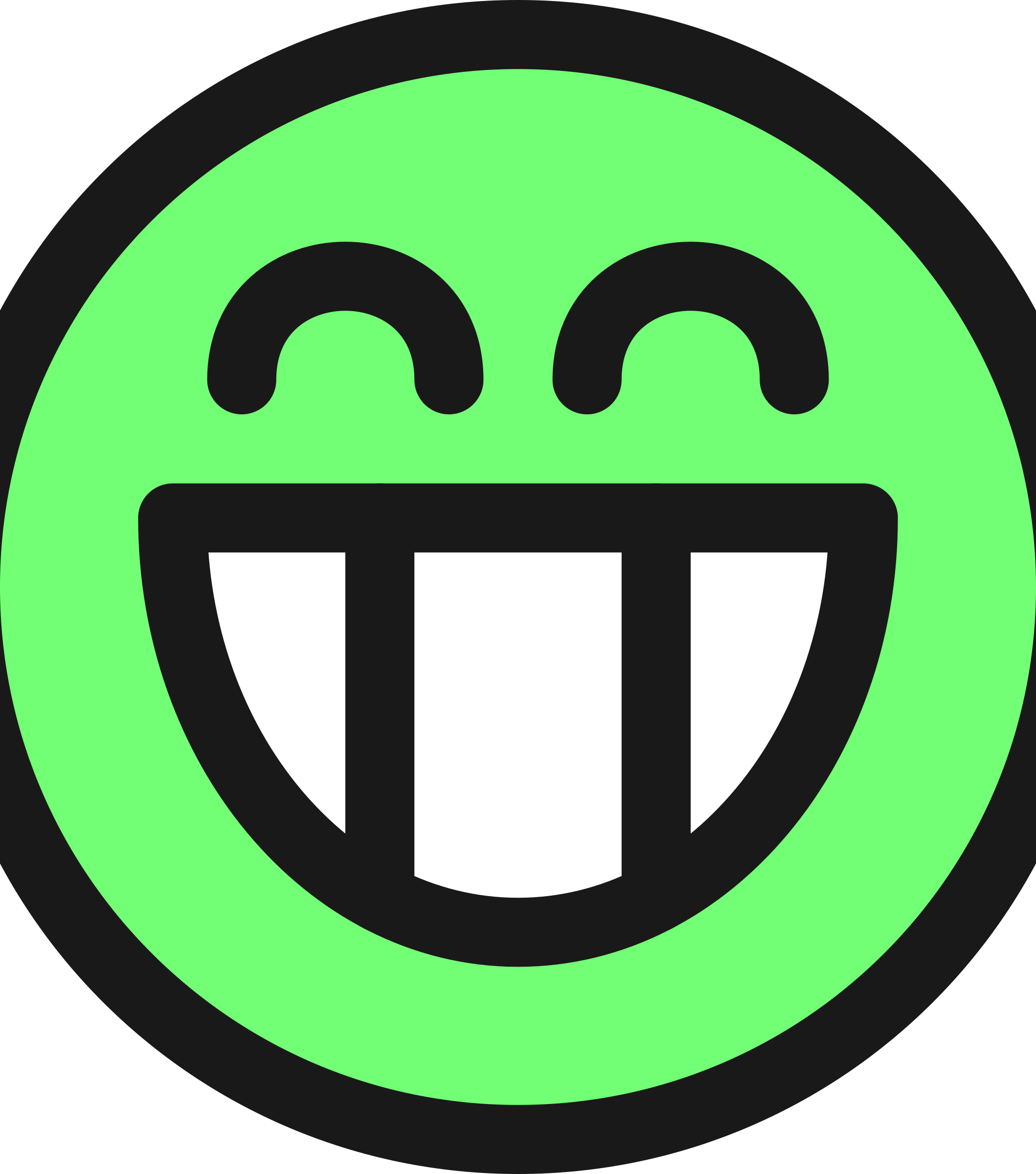 Smiley green pencil and. Emotions clipart smily