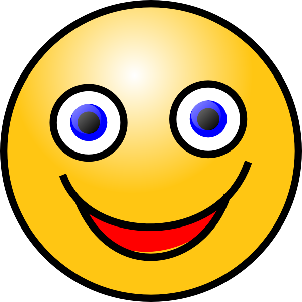 Smiley clip art at. Clipart smile happy face