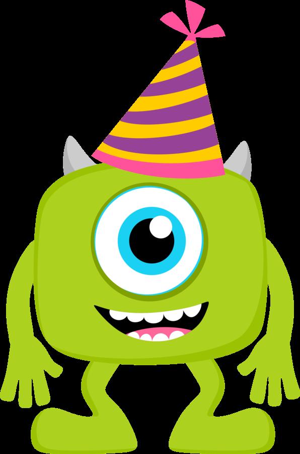 Clipart smile monster. De party beb s