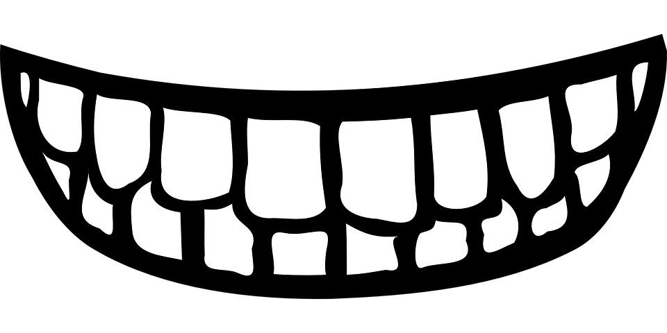 Smile png images free. Mouth clipart black and white