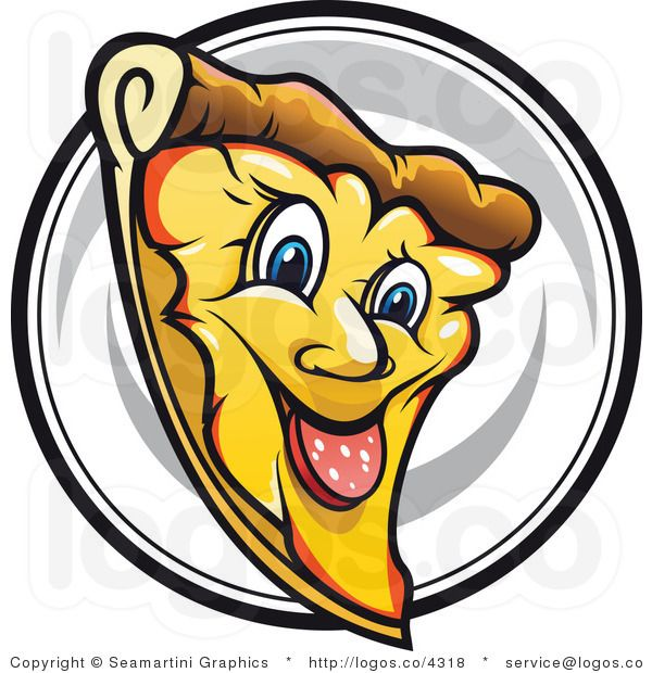 Clipart smile pizza. Royalty free smiling slice