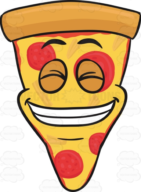 Slices free download best. Clipart smile pizza