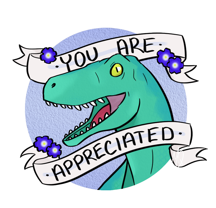 Thanks t rex pinterest. Clipart smile positivity