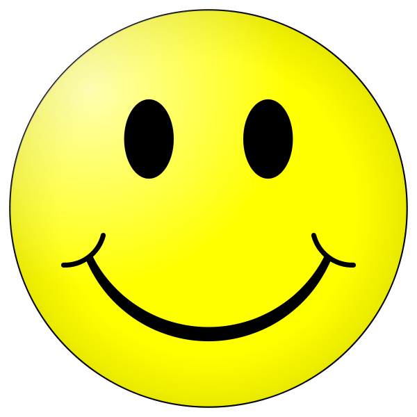 Positive clipart smile. And negative thinking the