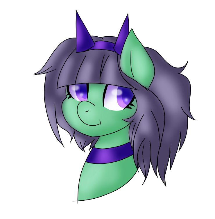 Art trade pastel by. Clipart smile rave