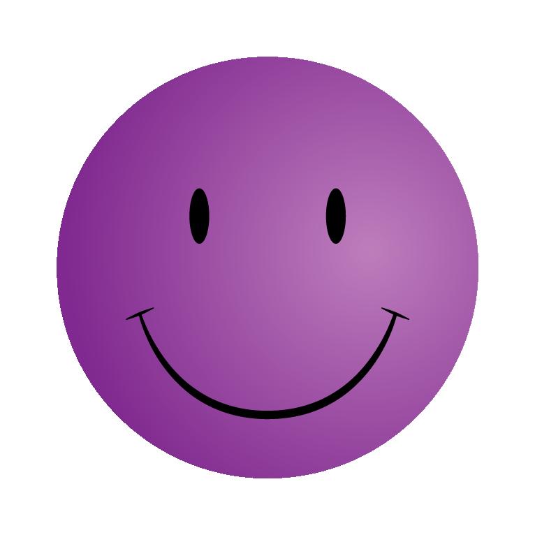 Clipart smile sad face. Purple smiley pencil and