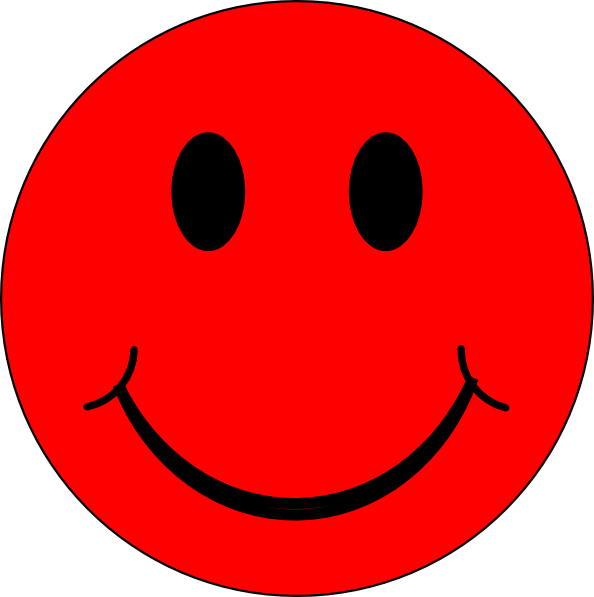 Clipart smile sad face. Red cheeks clipground