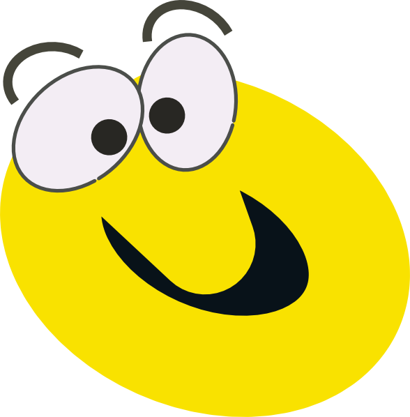 Excited clipart surprised. Silly face cartoon desktop