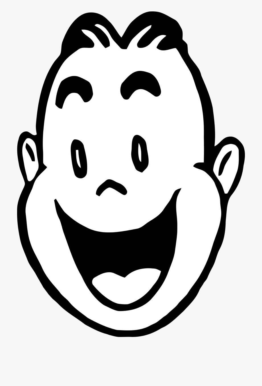 Png free smiling glad. Clipart smile smiled