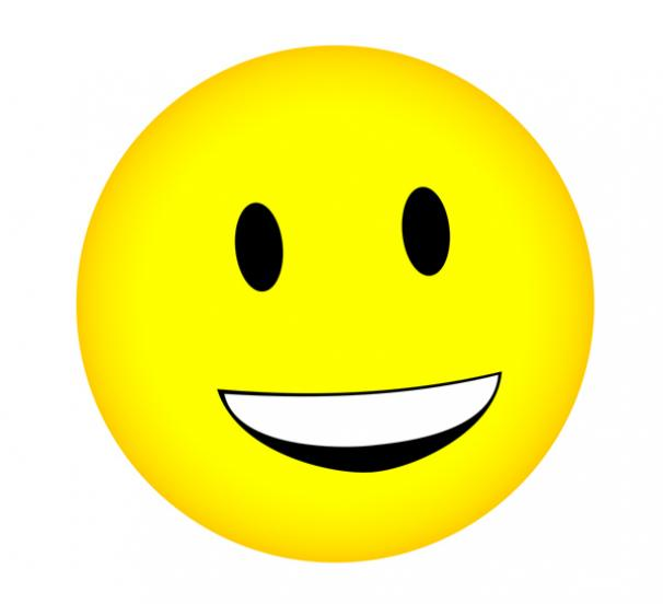 Free smile face images. Smiley clipart icon