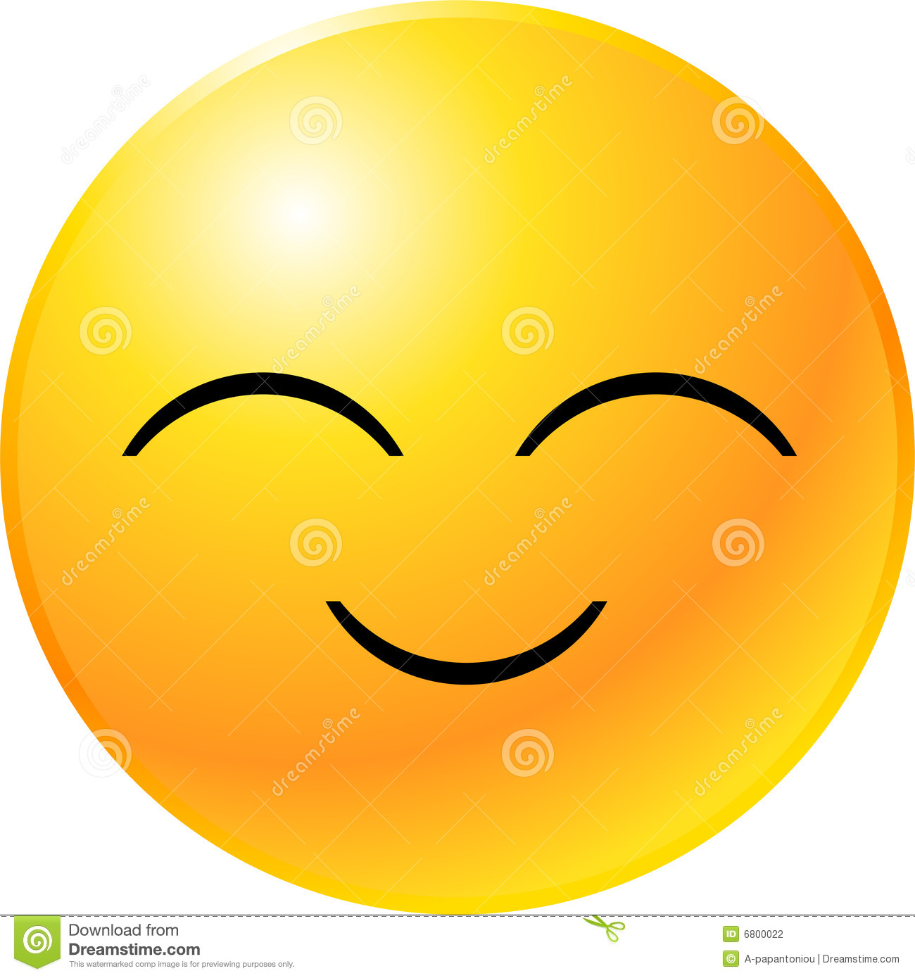 Smiley face clip art. Emotions clipart main