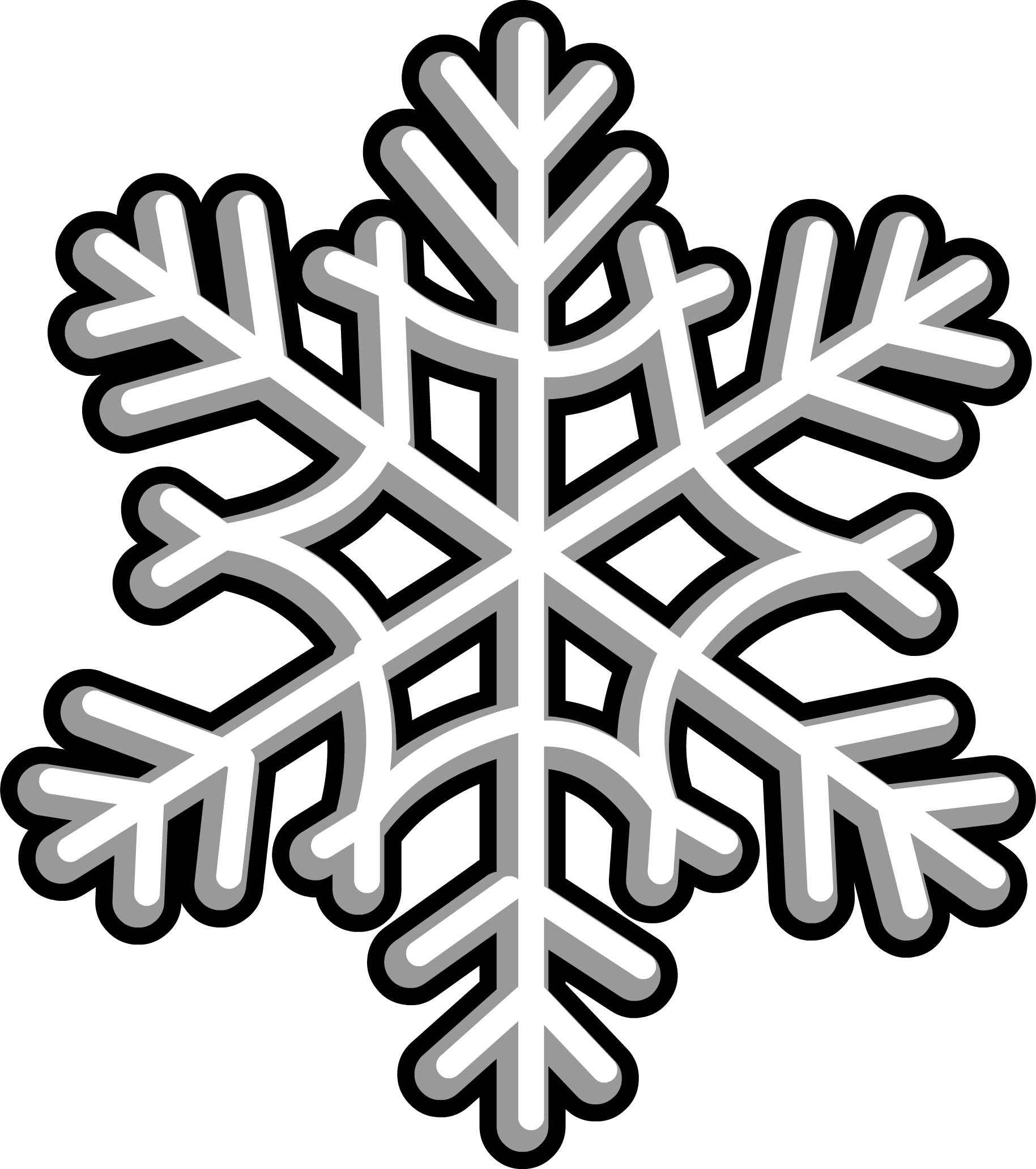 Image furniture png club. Snowflake clipart drawing