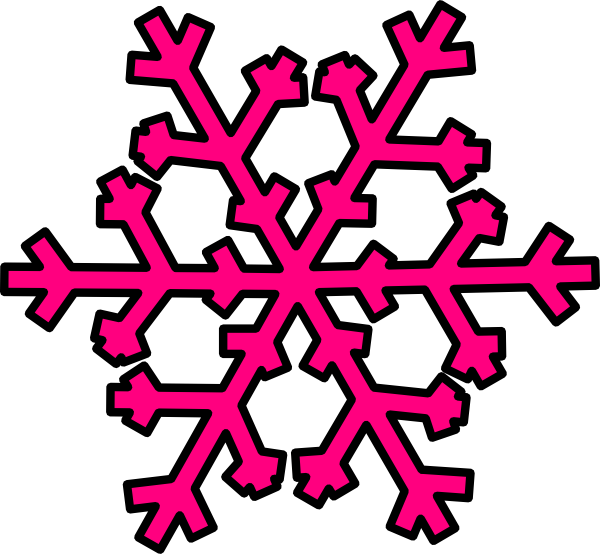 Pink panda free images. Clipart smile snowflake