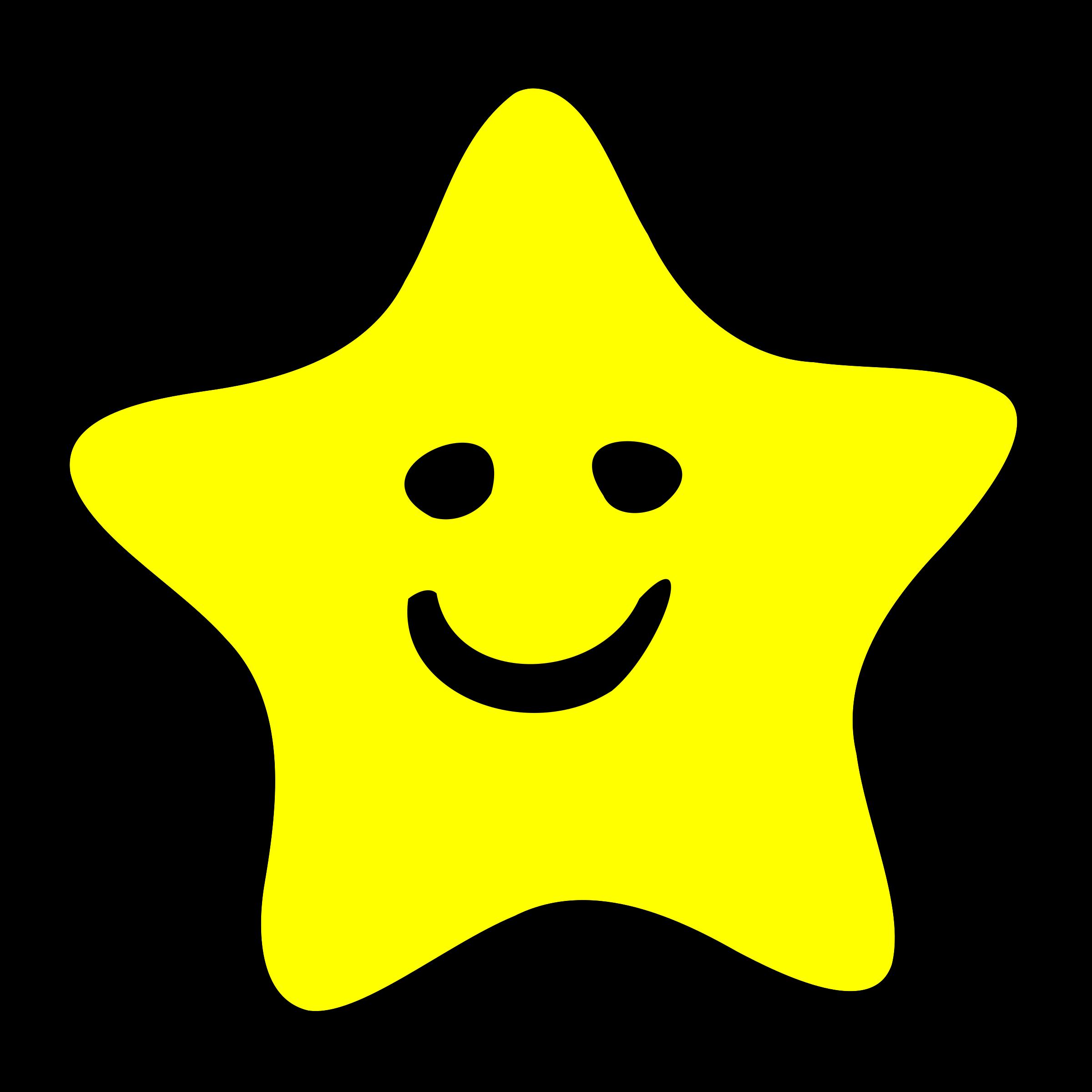 Happy big image png. Kindergarten clipart star