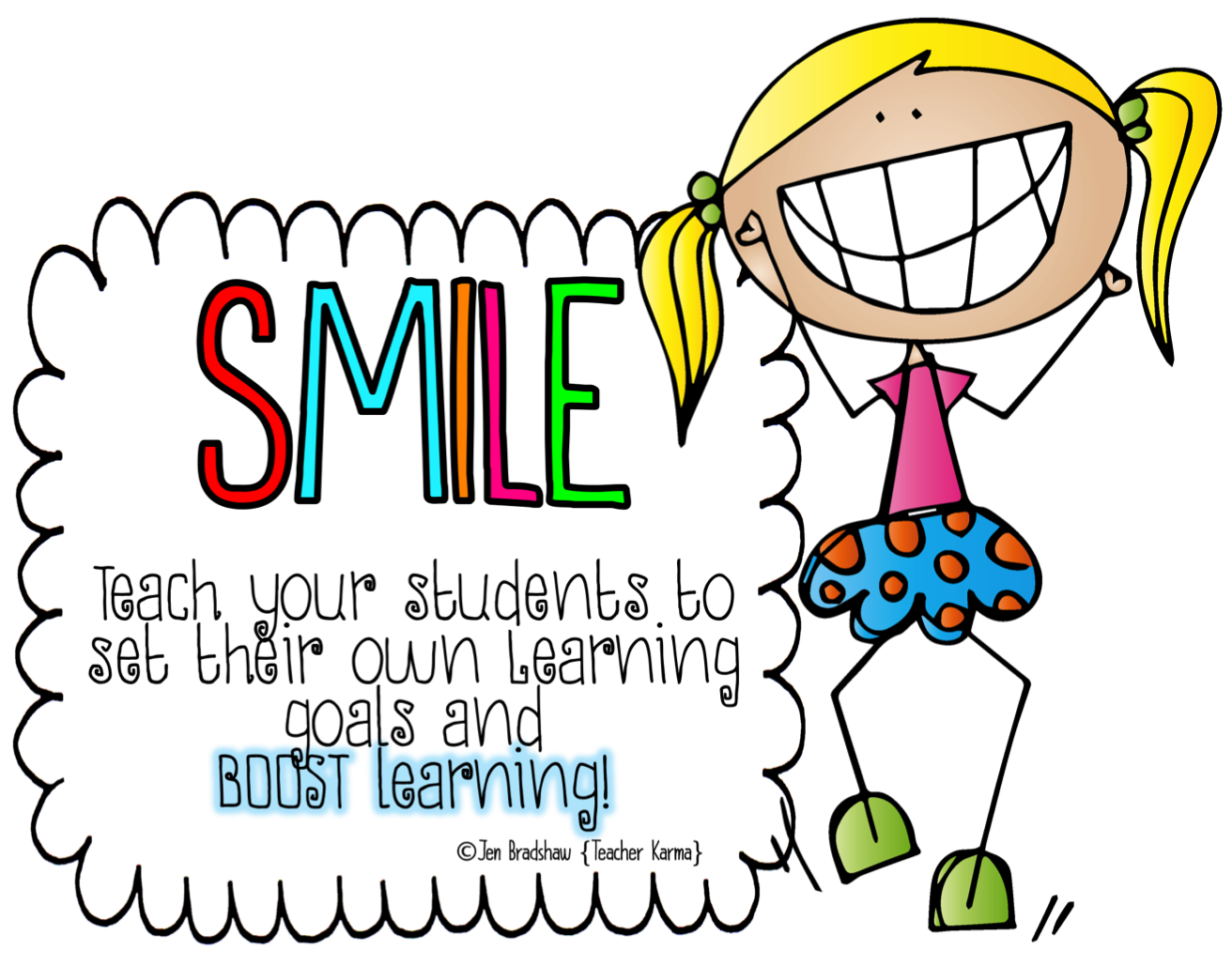 Teaching your students to. Writer clipart calm student