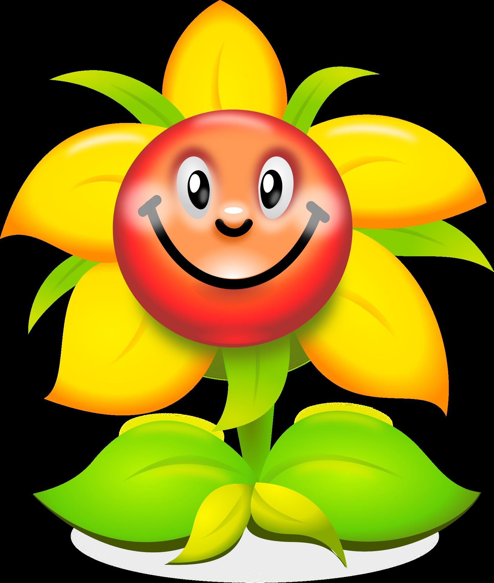 Flower humour clip art. Pomegranate clipart smiley fruit