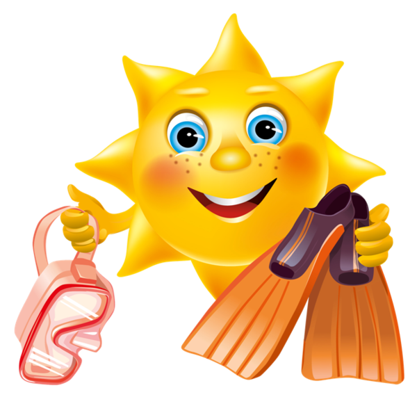 Clipart sunshine melanoma. Have a sunny summer