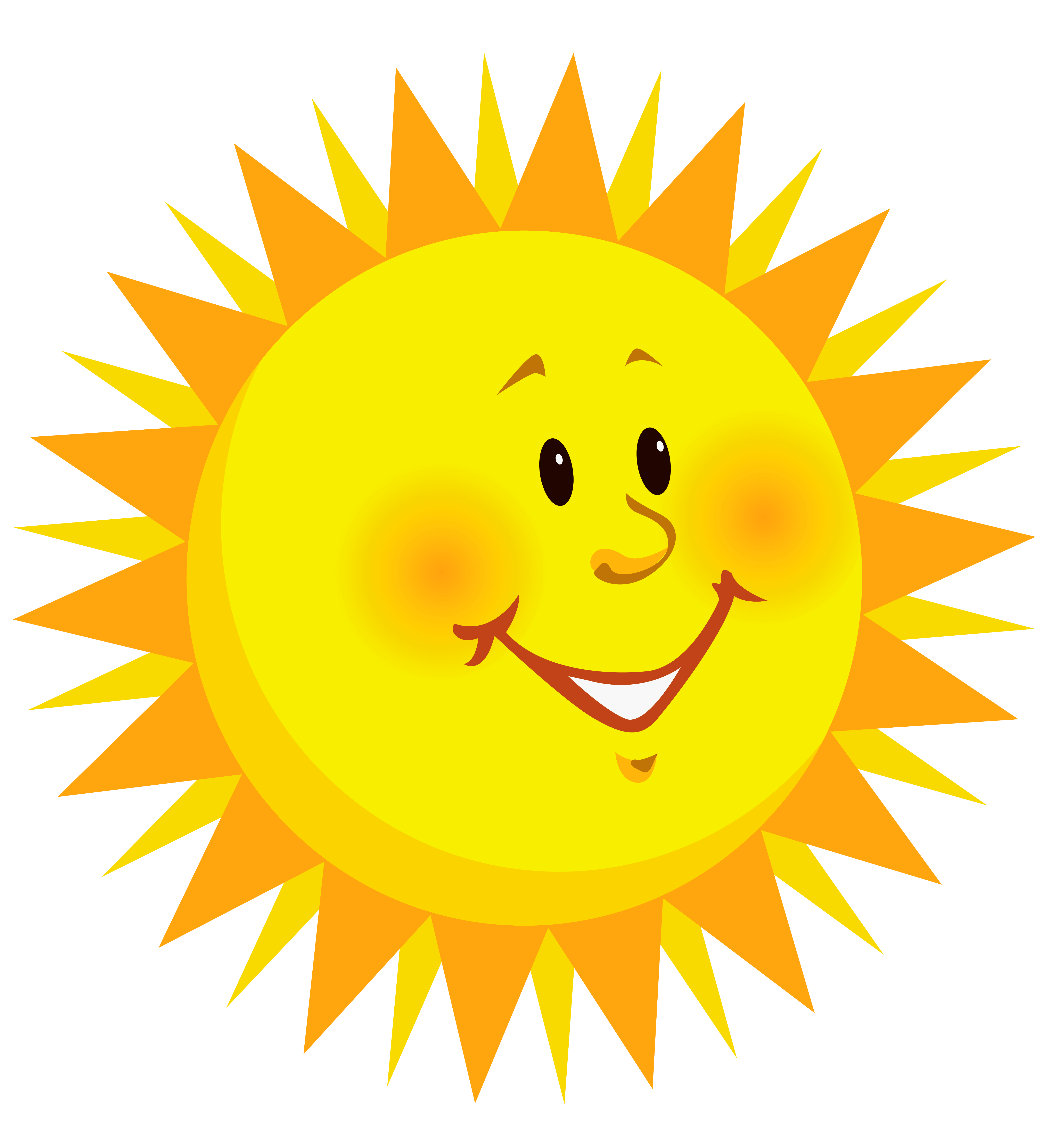 Transparent smiling sun png. Clipart smile sweet smile