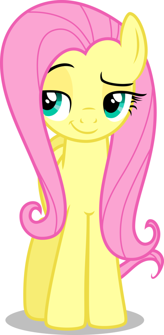 Clipart smile sweet smile. Fluttershy by cencerberon on