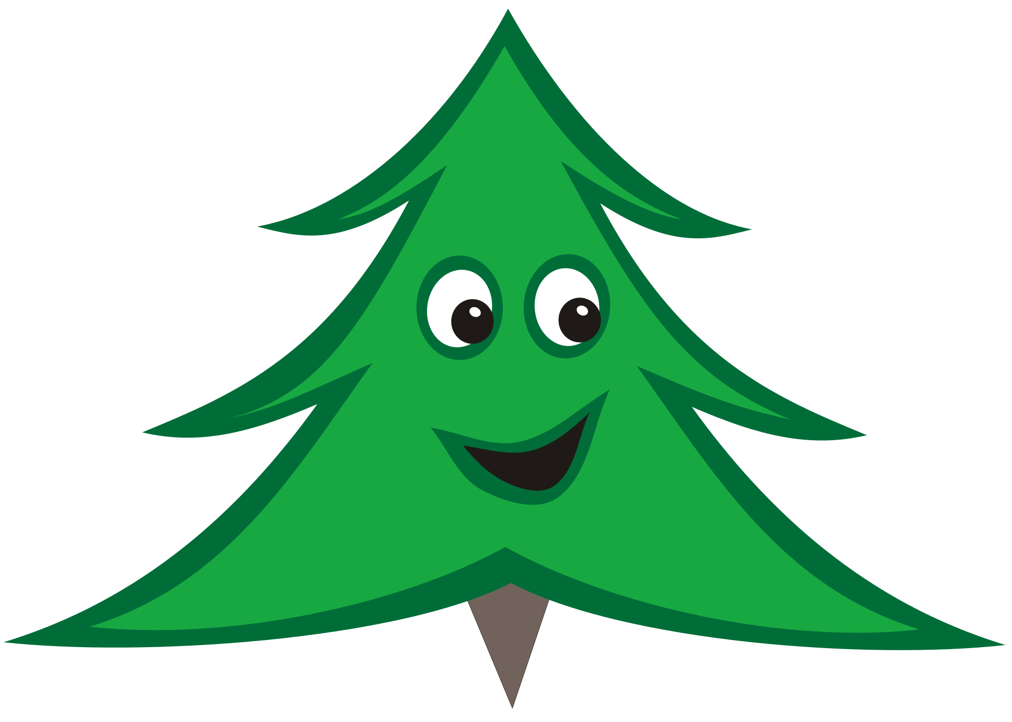 December clipart christmas tree. File smiling svg wikimedia