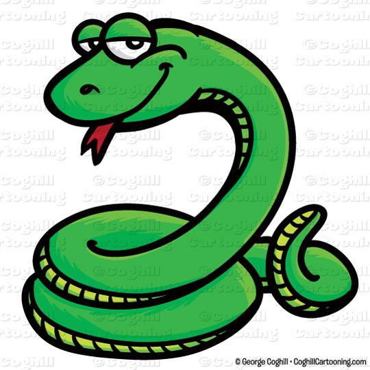 Snake clipart. Cartoon clip art stock