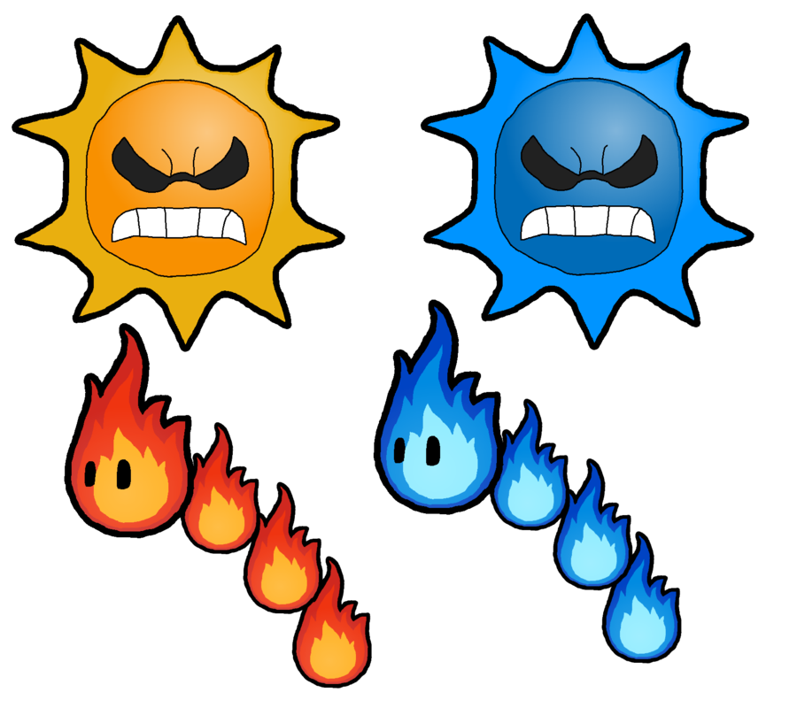 The suns and fire. Clipart snake angry snake