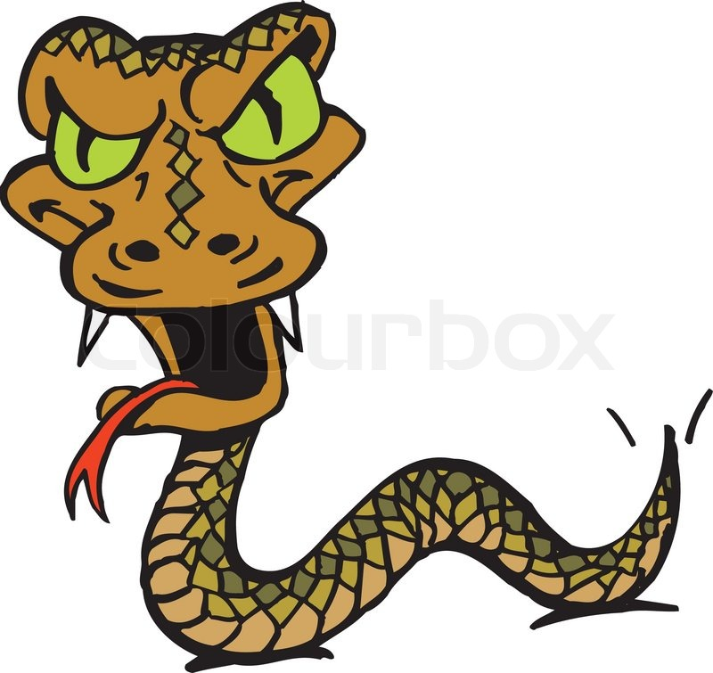 Station . Snake clipart angry snake