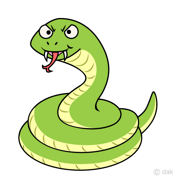 Clipart snake angry snake. Coil cartoon free picture