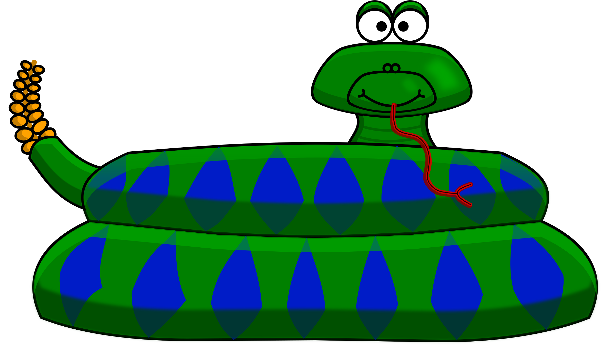 Cartoon pics group. Snake clipart tail