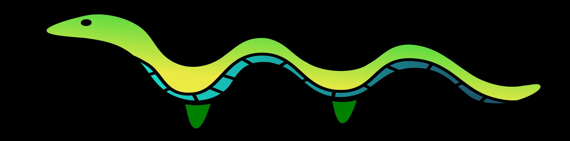 Snake clipart animation. Add feet big image