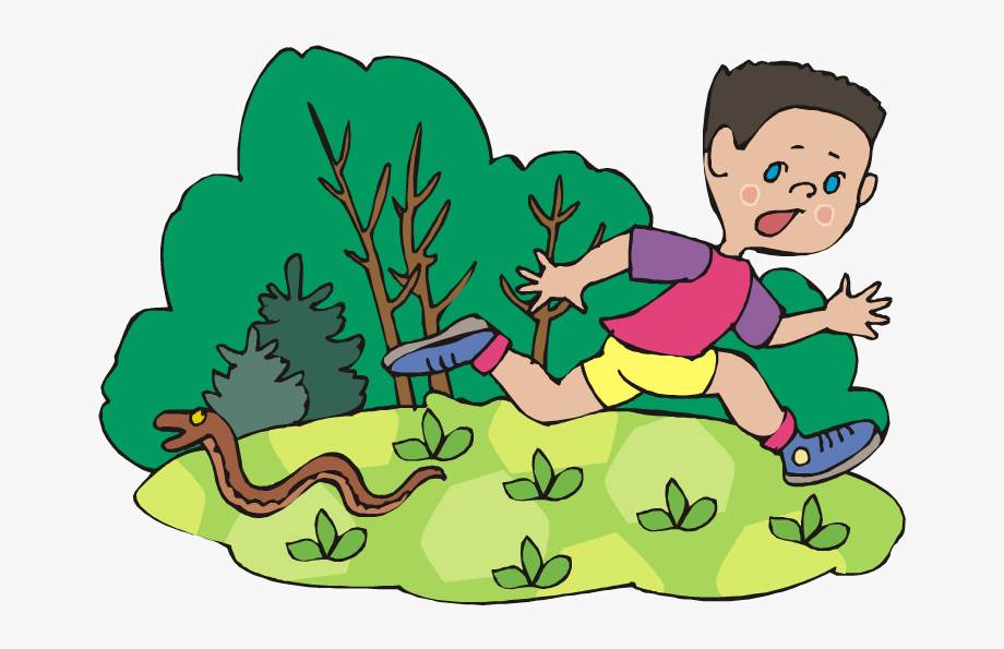 Download file running from. Snake clipart boy