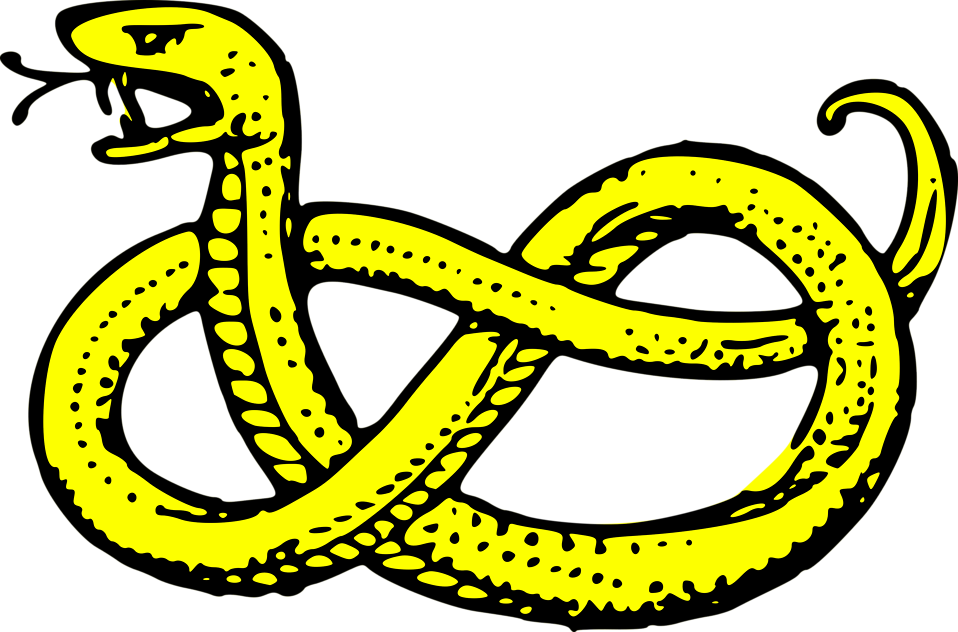Free stock photo illustration. Cobra clipart scary snake
