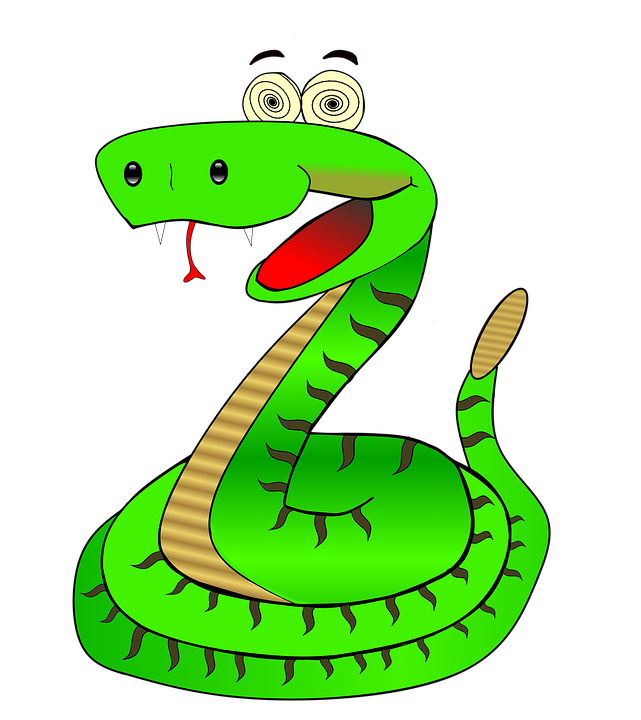 Worm clipart comic. Collection of snake cliparts