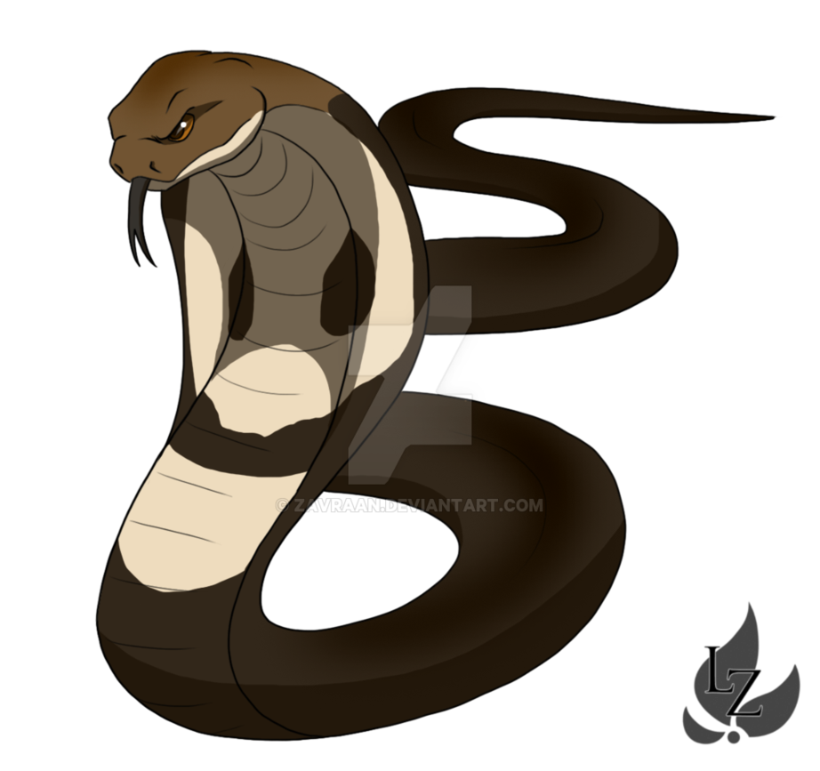 Clipart snake king snake. Cobra by zavraan on