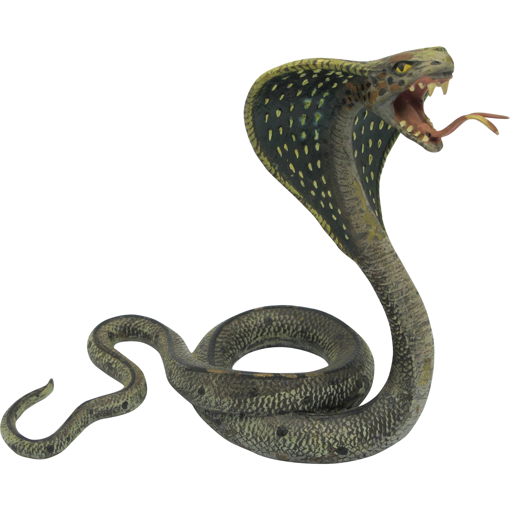 Bergman large cobra cold. Clipart snake king snake