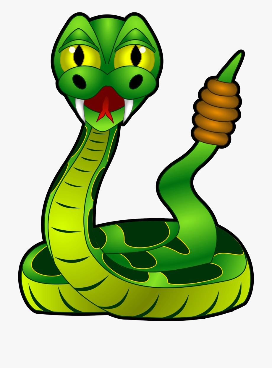Cartoon rattle snake free. Cobra clipart rattlesnake head