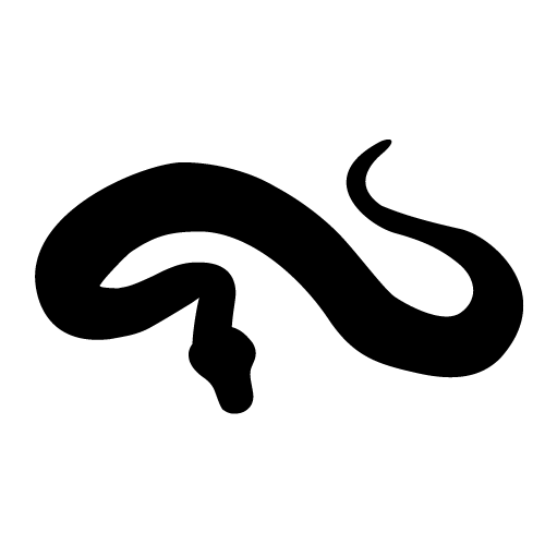 Snake clipart silhouette. Free cliparts download clip