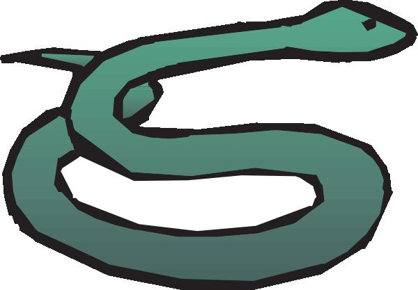 Snake clipart basic. Simple art clip at