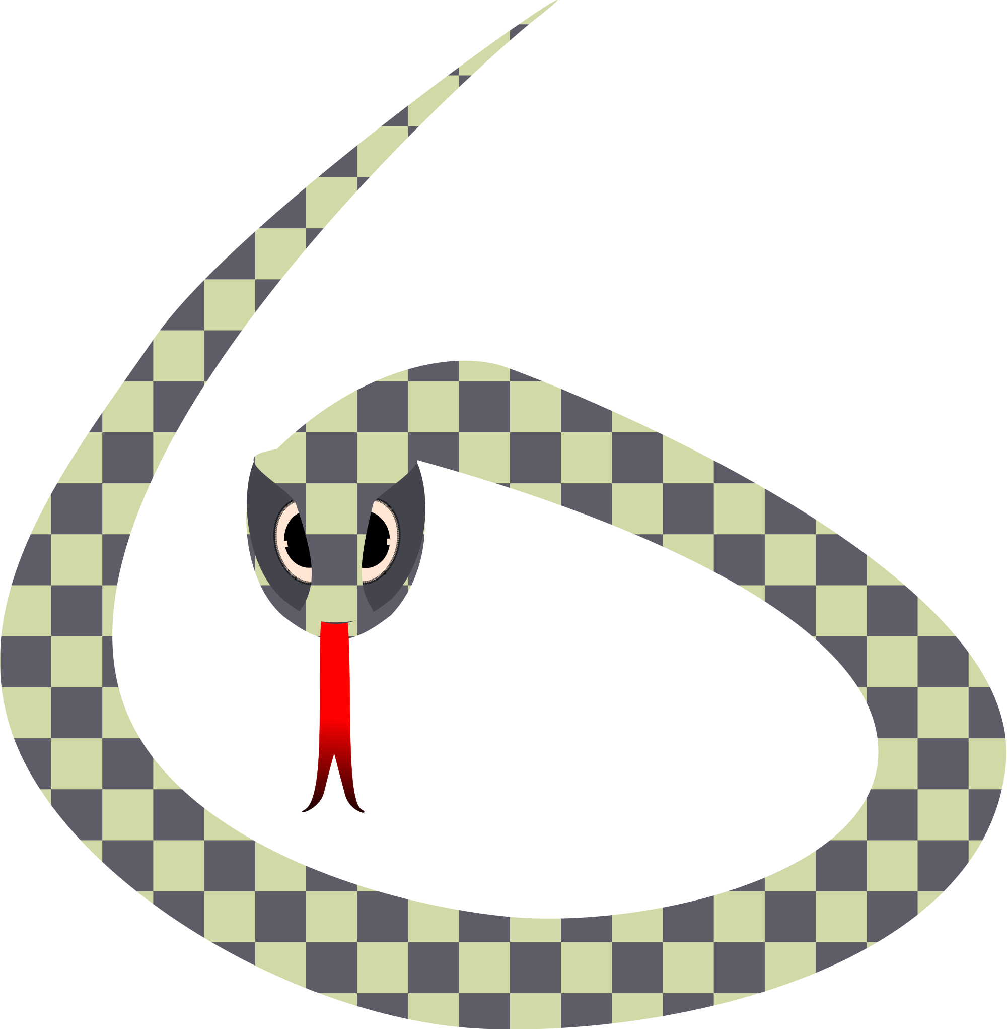 Snake clipart stretchy. Scary at getdrawings com