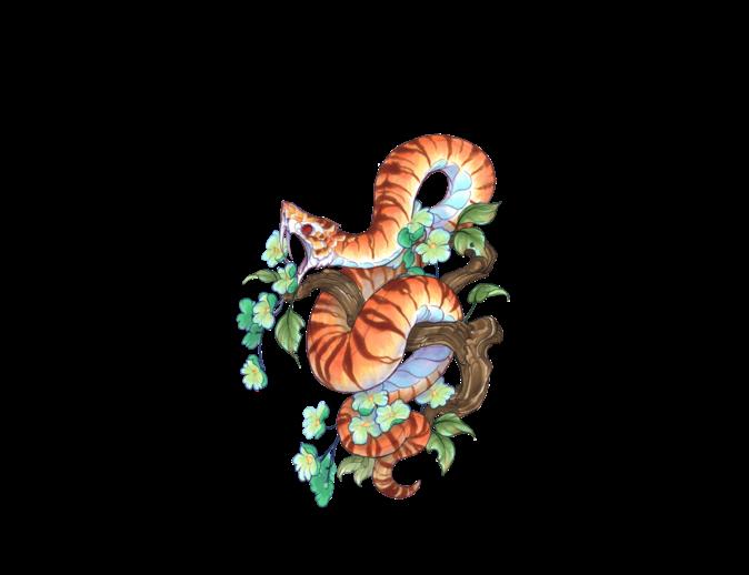 Clipart snake tiger snake. Mysoti fydbac tees