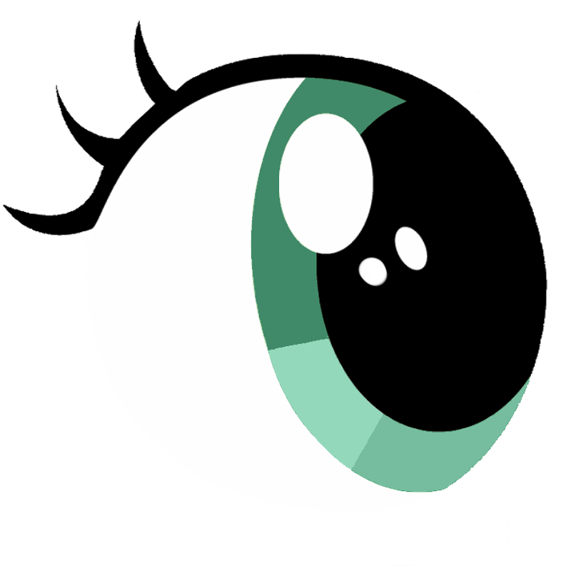 Free vector eye download. Eyes clipart side view