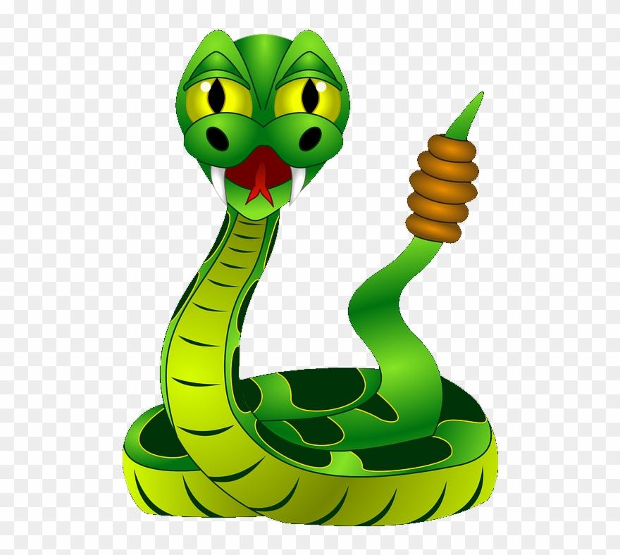 Cobra clipart poisonous snake. Rattlesnake clip art venomous