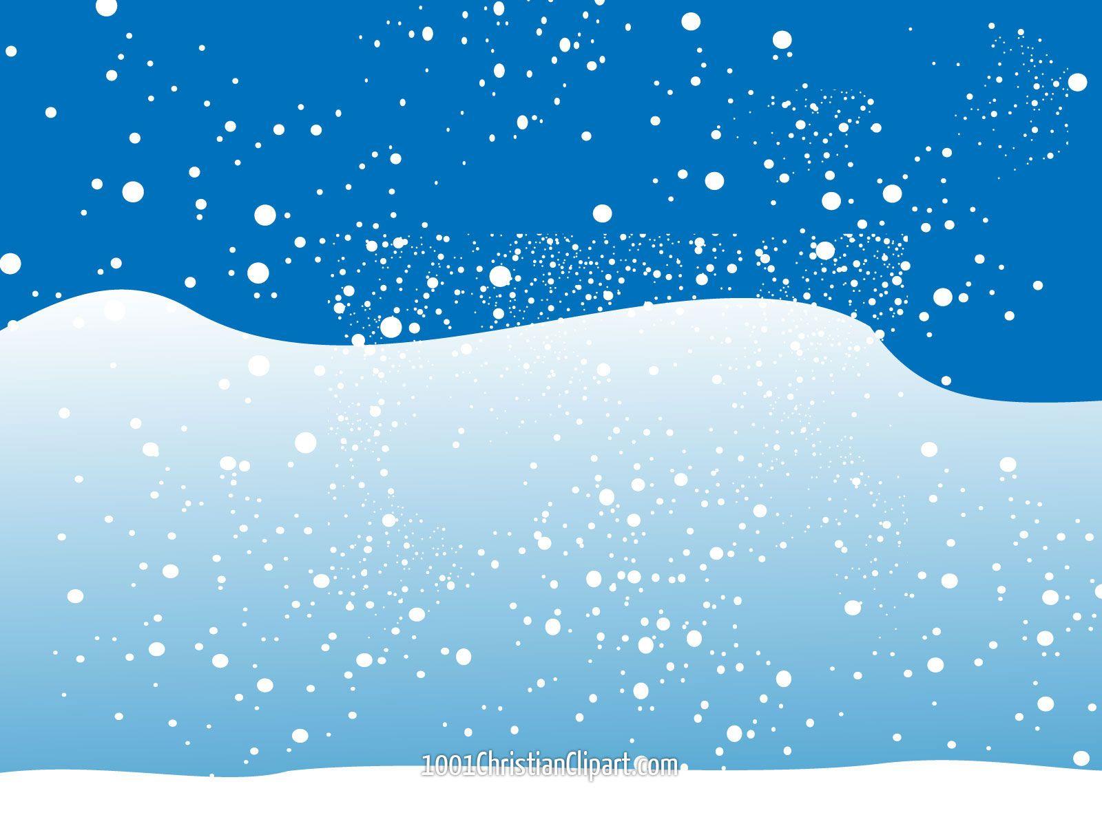 Christmas winter snow scene. Blizzard clipart snowclip