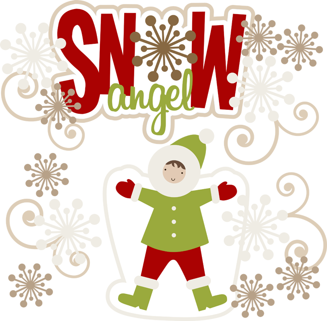 Clipart snow angle. Angel cuttable scrapbook svg