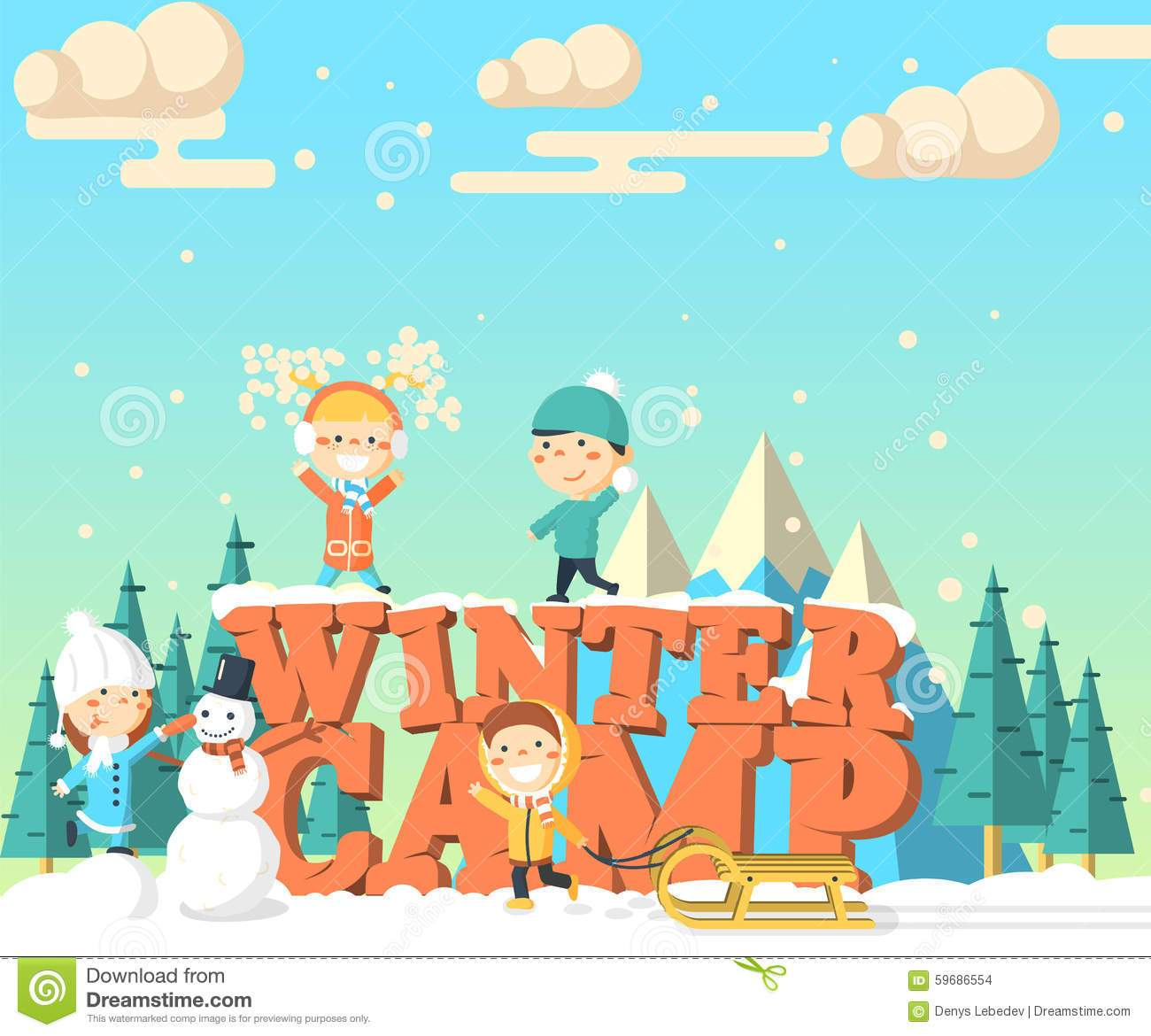 Winter clipart camp. Camping portal