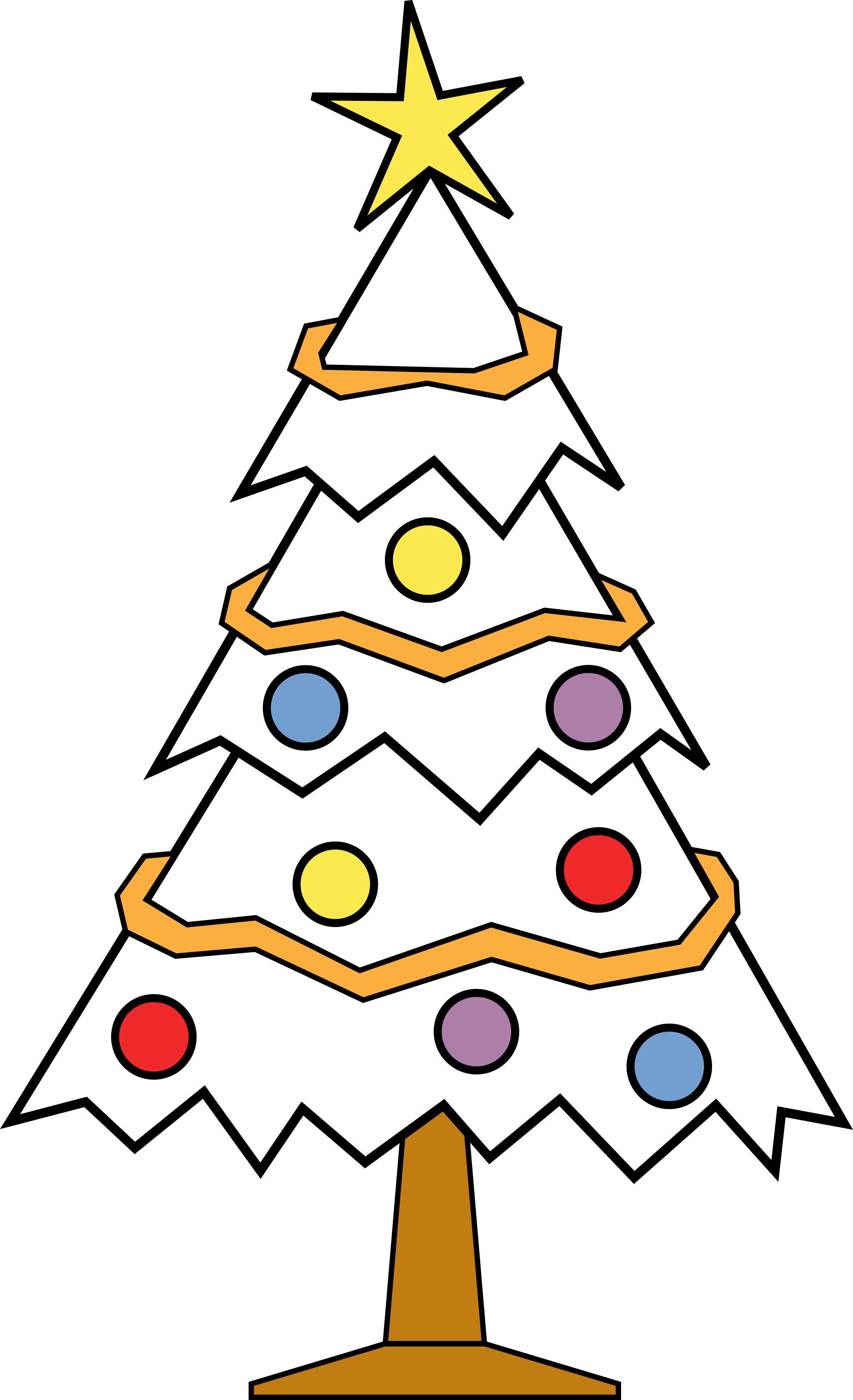 Couple clipart christmas. Free tree line drawing