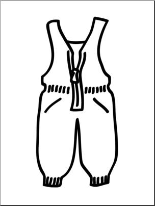 Clip art basic pants. Words clipart snow