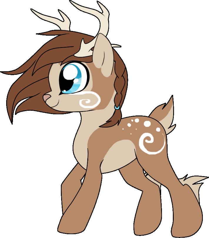 Swirl pony adopt taken. Deer clipart snow