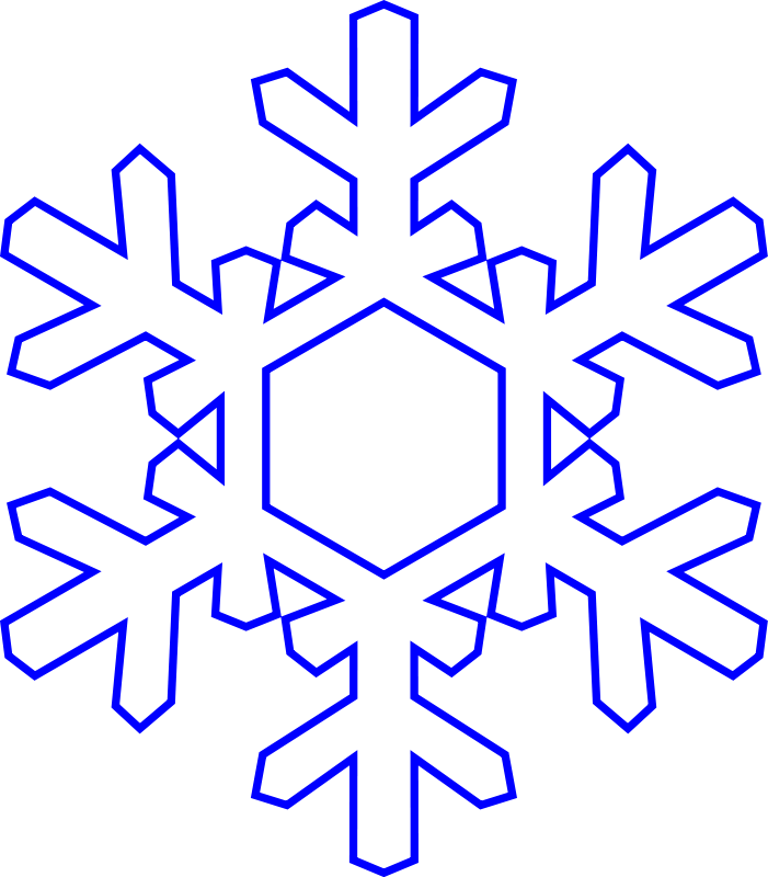 Free snowflake ablony pinterest. Garland clipart snowflakes