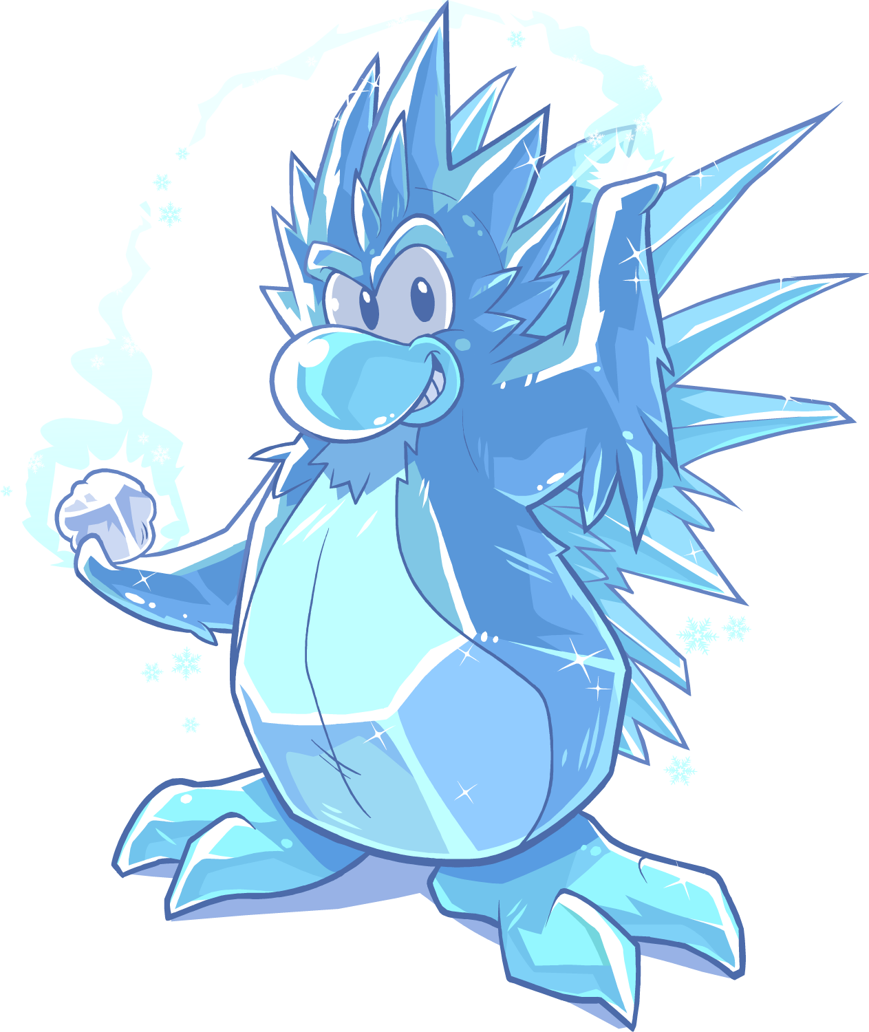 Icicles clipart icy road. Frost bite club penguin